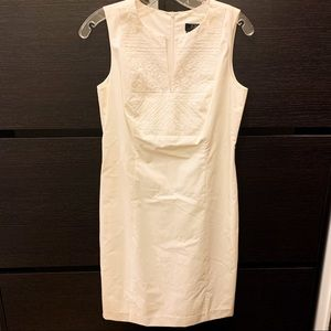 BCBGMaxazria white dress